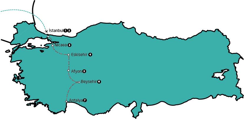 FDT8 Istanbul / Antalya